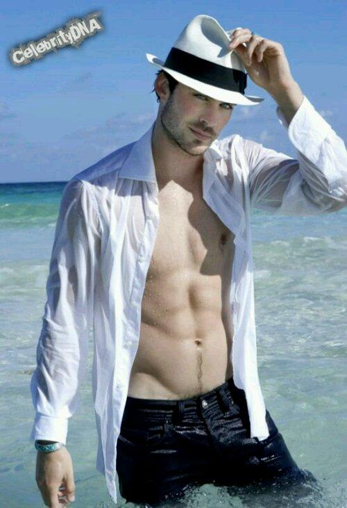 Hot shirtless celebrity
