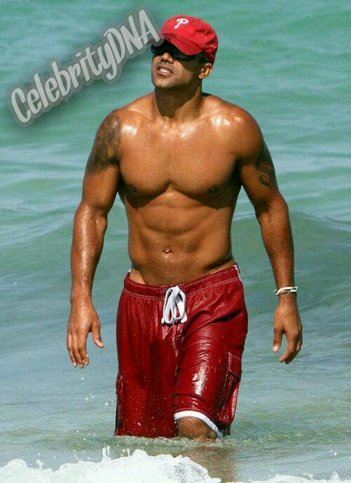 Beach Bulge http://celebritydna.wordpress.com/2013/02/12/shemar-moore-bulge/